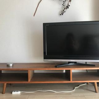 REGZA 32H9000 テレビ 32インチ 木目テレビ台