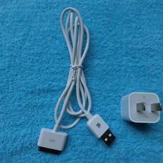 【完売しました】Apple純正Dock-USBケーブル (30ピ...