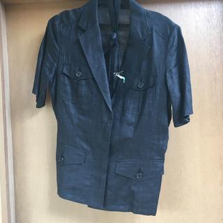 夏物半袖 麻ジャケット コムサ
