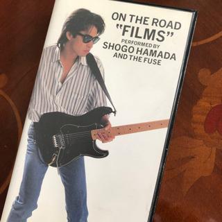 """浜田省吾 ON THE ROAD""""FILMS"""" VHSテープ"""