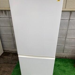 №e95 2018年製AQUAノンフロン冷蔵冷凍庫 184ℓ