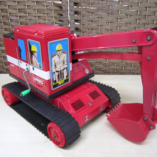 ATC アサヒ玩具 ブリキ ユニック 522 ショベルカー 日本...