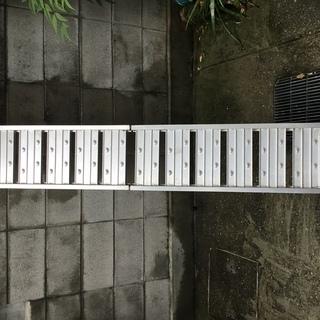 折り畳み式アルミラダーレール