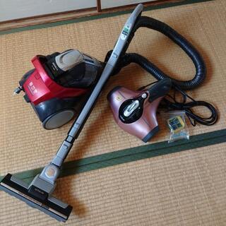 日立 サイクロン掃除機&布団掃除機レイコップ