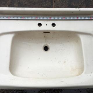TOTO洗面器、ガーデニングや犬、動物の洗い場