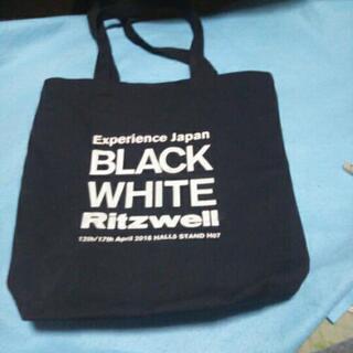 BLACK WHITE Ritzwellト―トバッグ
