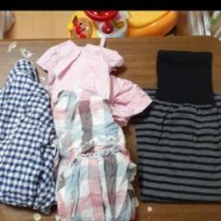 マタニティパジャマ スカート