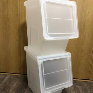 【美品】ニトリ  カバコ スリムL  収納 おもちゃ箱