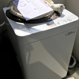 SHARP 全自動洗濯機 容量7.0kg 乾燥3.0kg Ag+...