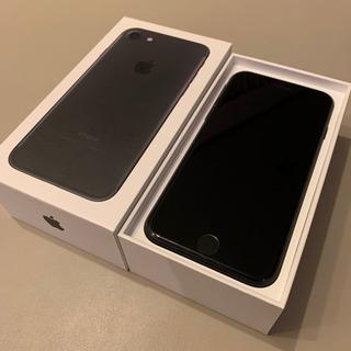 【取引き中】iphone7/SIMフリー/ブラック/128GB