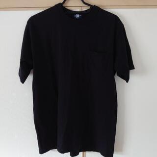 男性夏ポロシャツ黒色M