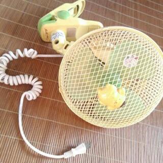 ポムポムプリンクリップ式扇風機
