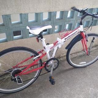スウィツスポート 折りたたみ式クロスバイク