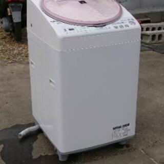 8キロ洗濯機◆SHARP◆2012年製◆保証付き◆配送設置無料!!