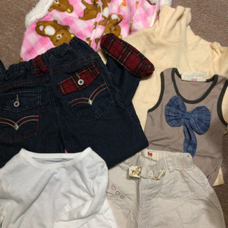 男児 女児 男女兼用 他サイズもあり 長袖白Tシャツ セーター ...