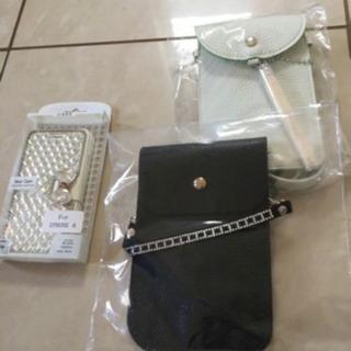値下げ‼️新品❣️黒のスマホのバッグ、1個