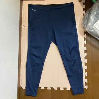 NIKE DRI-FIT トレーニングパンツ ジャージ Mサイズ 紺