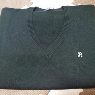 渦潮高校男子Vネックセーター