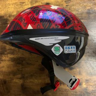 OGK 幼児用 ヘルメット レッド ナンバリング