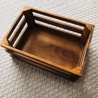 お洒落な木の箱