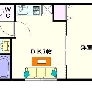 【BLUE BEE 桜川駅前】1号タイプ!1DKタイプ!デザイナ...