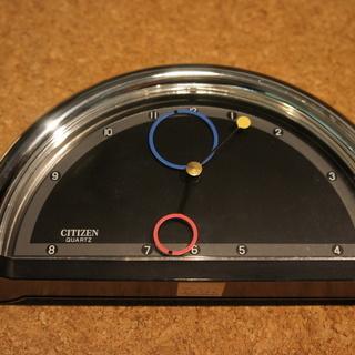 CITIZEN 置時計 レトロモダン 20年以上前のもの 中古