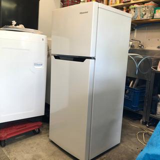 【摂津市内無料配送】2017年製 Hisense2ドア冷蔵庫