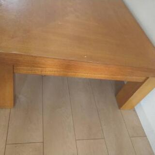 [差し上げます]木造テーブル