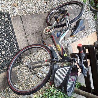 26インチ、キッズ自転車、値引き交渉OK