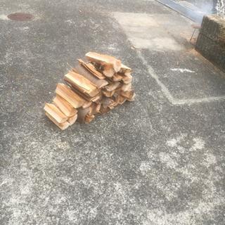 ケヤキの薪です、2年乾燥させた手作りです。アウトドアに薪ストーブ...