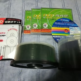 DVD-R DVD-RAM CD-R 収納ポケット
