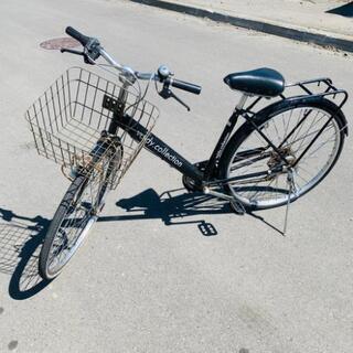 自転車◆ブラック◆27インチ◆市内配送可能!!