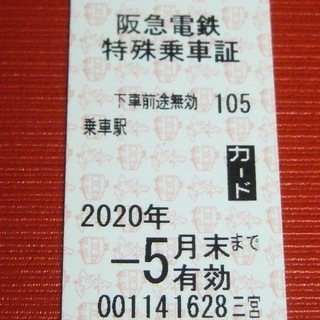阪急電車 全線のれる切符