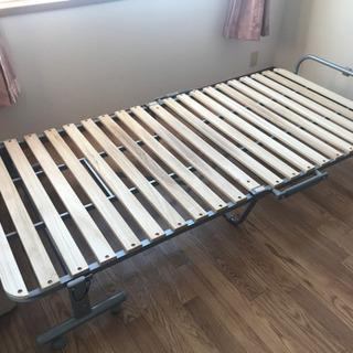 折りたたみ すのこベッド