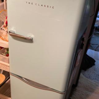 【ジャンク】レトロ冷蔵庫 ダイウー