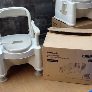 ※残り1台【介護福祉用品】パナソニックのポータブルトイレ 未使用...