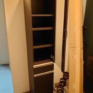 ニトリの隙間収納食器棚