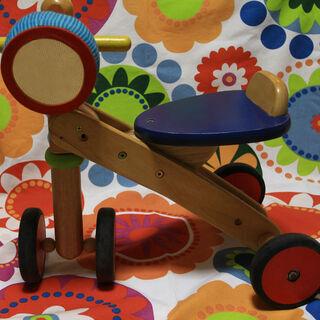 木製三輪車 こども