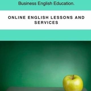 個人レッスン。英語の試験対策、ビジネス英語等をオンラインで学びましょうの画像