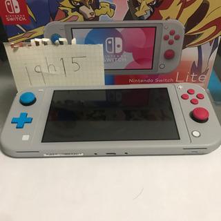 Nintendo Switch Light ザシアン・ザマゼンタ...