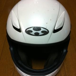 カブト ヘルメット KABUTO FF-RIII ホワイトメタリック