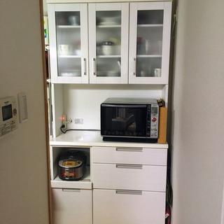 ニトリ 食器棚、キッチンボード(横100センチ)