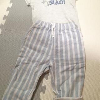 227*サマンサモスモスラゴム Tシャツ&パンツセット
