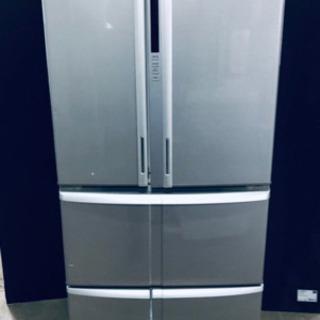 244番 東芝✨ノンフロン冷凍冷蔵庫✨GR-B55F‼️