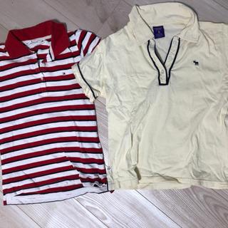 トミーとアバクロのポロシャツ