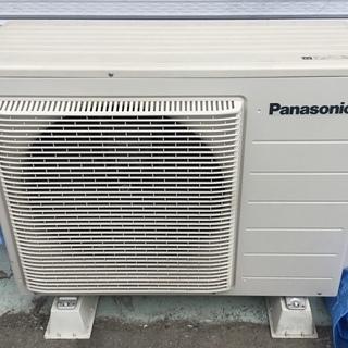 <動作品>室外機のみです。パナソニック・Panasonic CS...