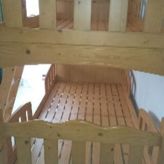 只今、商談中!!二段ベッド 木製 宮付き 照明 コンセント − 神奈川県