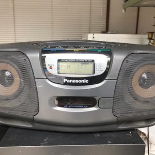 パナソニック RX-DS35 CD&カセット