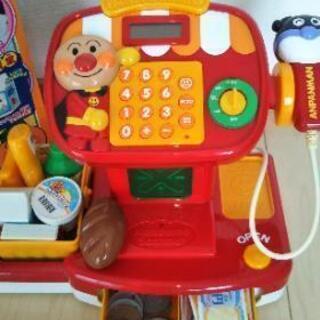 アンパンマンレジスター おもちゃ 箱あり