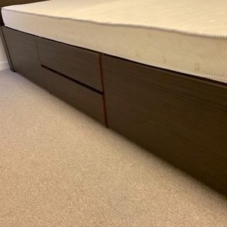 ニトリのベッド(収納付き)